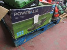 Powerbase 37cm 1600W Electric Rotary Lawn Mower - Untested & Boxed -