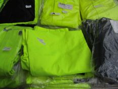 L.Brador - Hi-Vis Work Trousers (Contains Utility Pockets ) - Size 56 - Unused & Packaged.