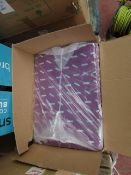 """Box Containing 200 Purple Gift Bags ( 13.25"""" X 18.5"""" ) - Unused & Boxed."""