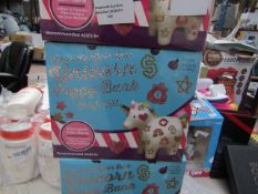 Decorate your own unicorn piggy bank - New & Boxed.