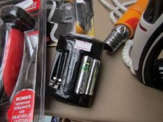 Energizer - Plug-In Rechargeable Battery Charger (2 AA Batteries Included) - Untested, No