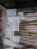 5x Packs of 4 Hex Head Atlas Bolts - M8x130mm - New in Package