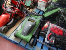 Powerbase 37cm 1600W Electric Rotary Lawn Mower - This item powers on but no other functions have