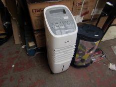 Stylec - 9 Litre Evaporative Air Cooler - Untested, No Box.