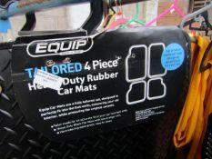 Equip - Heavy Duty Rubber Car Mat Set - Mini R55 2008/2014 - Unused.