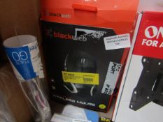 Black Web - Multi-Tasking Wireless Mouse - Unchecked & Boxed.