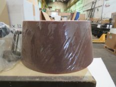 Chelsom Adj Contico 40cm Lamp shade, new