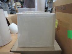 Chelsom 23cm Cube Lamp Shade