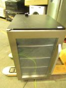 Denby Under counter display wine cooler, powers on