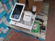 Clover station tablet, printer, cash drawer and FD40 terminal, untested but appears to be