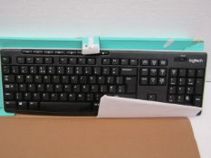 Logitech K270 full size wireless keyboard, unchecked and boxed.