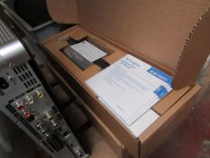 2x Kensington Notebook Dock with adjustable base, unchecked and boxed.