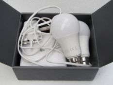 Nano 2 Hub with 2x Bulbs - Untested & Boxed -