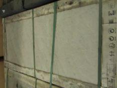 50x Italiam Grey Porcelain tiles, 50x100cm, RRP Circa £500