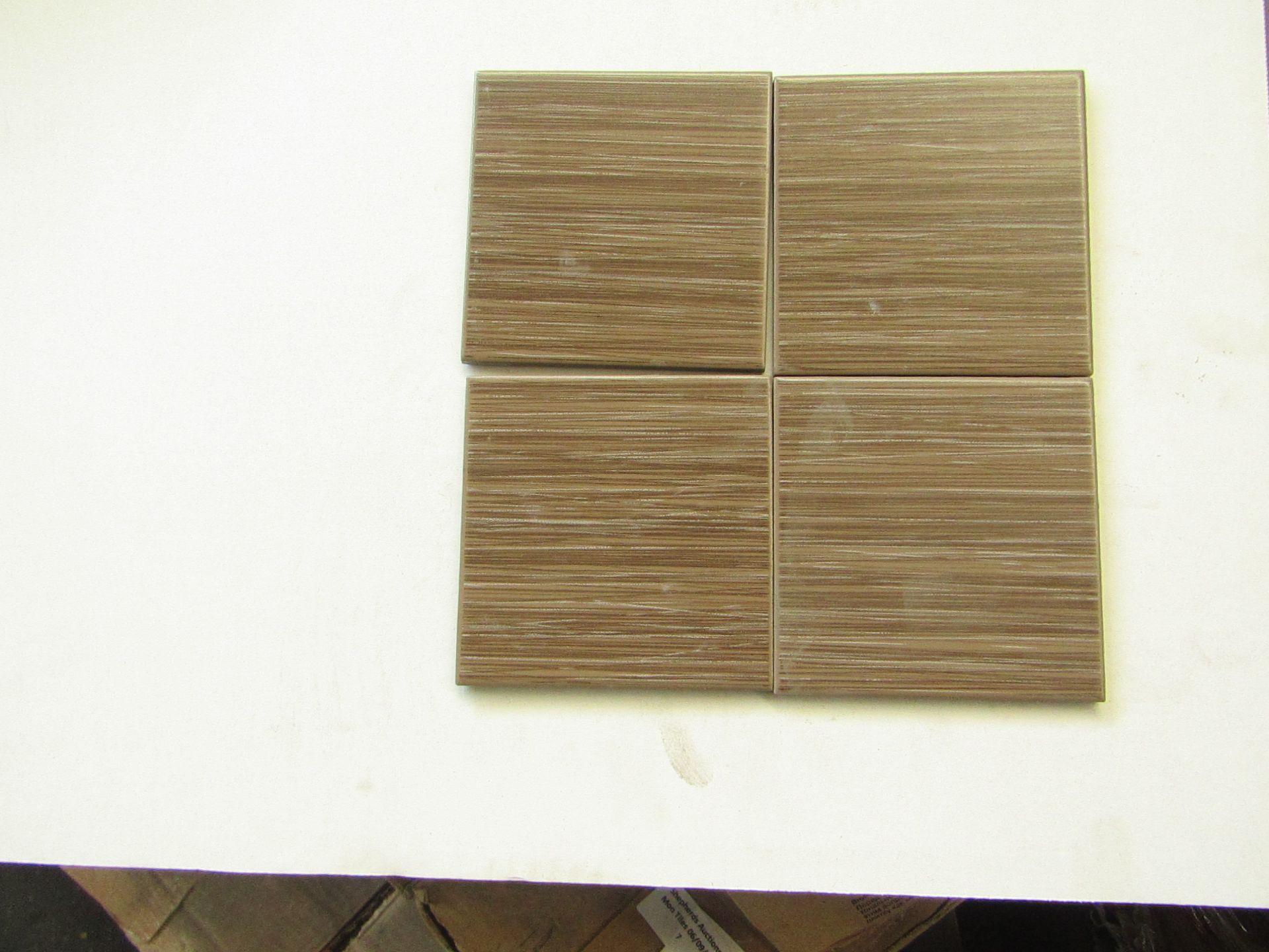 10x Boxes of 50 Vitra Elegant Mocha (K334411) tiles 100 x 100 x 6mm, brand new. Total RRP £22 a Box,