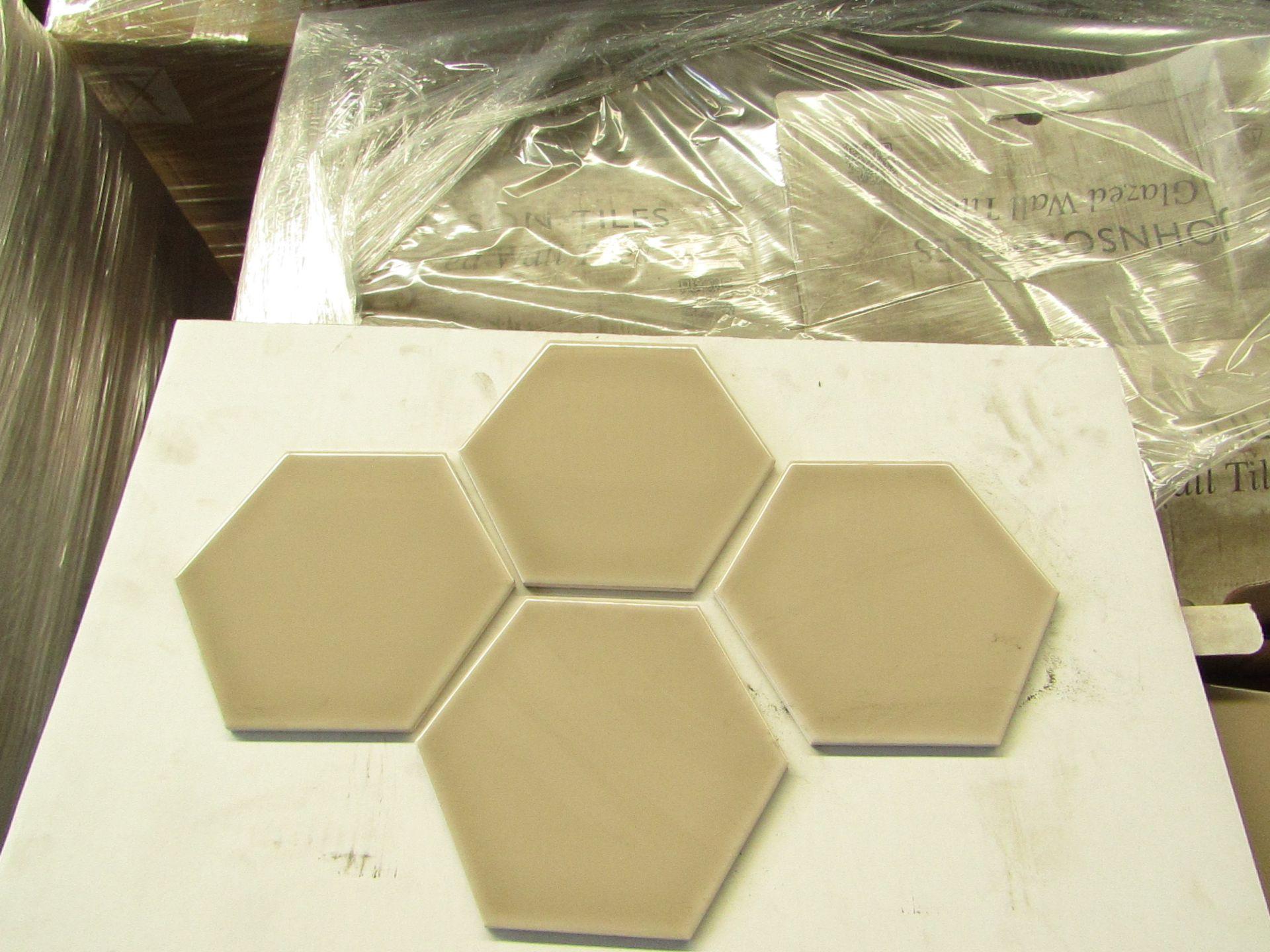 10x Packs of 50 Johnsons tiles 150 x 173 Savory Grain Gloss SAV03A, AAH150SAV03A050, brand new.