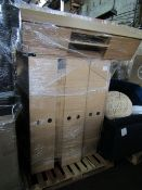| 1x | PALLET OF APPROX 10 LOFT MEDIA UNITS | UNCHECKED BUT ALL WITH NO LEGS |