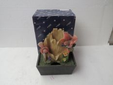 6x Small Table-Top Bird Themed Water Features - New & Boxed.