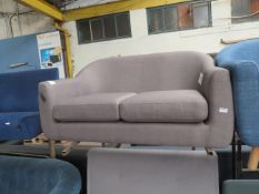 1 x Made.com Tubby 2 Seater Sofa Pewter Grey RRP œ299 SKU MAD-SOFTUBY48GRY-UK TOTAL RRP œ299 Has a