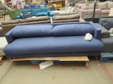 1 x SWOON Tibur MTO Three-Seater Sofa in Midnight Wool RRP œ1099 SKU SWO-