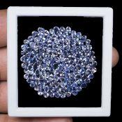 IGL&I Certified - Natural Tanzanite - 16.80 Carats - 136 Pieces - Pear shape - Average retail