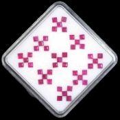 IGL&I Certified - Natural Rubies - (Untreated Unheated) - 3.50 Carats - Square cut - Average