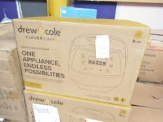 | 1x | DREW & COLE CLEVERCHEF MULTI-COOKER | UNCHECKED & BOXED | NO ONLINE RESALE | SKU - |