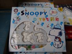 2x Snoopy DIY Kit - Paint Your Own Snoopy Figures - New & Boxed