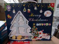 Merry Christmas DIY Kit - Paint Your Own Christmas Figures - New & Boxed