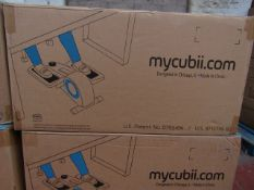   1X   CUBII UNDER DESK ELLIPTICAL   UNCHECKED & BOXED   NO ONLIINE RESALE   RRP £189.99  