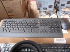 Lenovo Professional Wireless Keyboard - Untested & boxed - RRP £35
