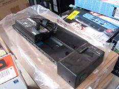2x Lenovo ThinkPad dock, unchecked and boxed.