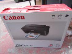 Canon Pixma MG2550S Printer - Untested & Boxed - RRP £50