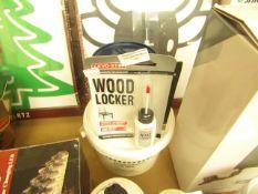 3x items being - 1x wood ashesive - 1x wood locker wood glue - 1x super glue, all new & sealed.