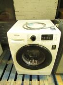 Samsung WW80TA046AE washing machine Vendor informs us this has been check with water and works as it