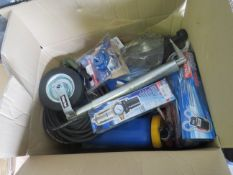 1x BOX OF VARIOUS TOOLS 1538 This lot is a Machine Mart product which is raw and completely