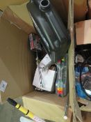 1x BOX OF VARIOUS TOOLS 1573 This lot is a Machine Mart product which is raw and completely