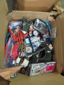 1x BOX OF VARIOUS TOOLS 1571 This lot is a Machine Mart product which is raw and completely