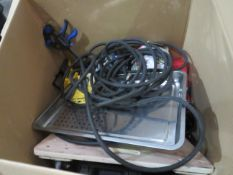 1x BOX OF VARIOUS TOOLS 1574 This lot is a Machine Mart product which is raw and completely