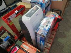 1x CL AIRCON AC13050 23 1584 1x CL FAN- CHV18WF 230V 1584 This lot is a Machine Mart product which