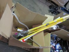 1x BOX OF VARIOUS TOOLS 1575 This lot is a Machine Mart product which is raw and completely