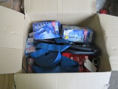 1x BOX OF VARIOUS TOOLS 1537 This lot is a Machine Mart product which is raw and completely