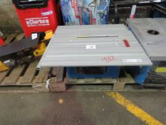 1x CL TABLE CTS14 230V 1562 This lot is a Machine Mart product which is raw and completely unchecked