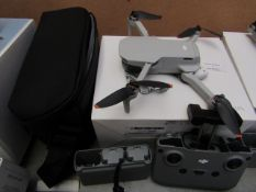 DJI Mini 2 Fly More combo Bundle, Unchecked for operatation and for completeness, comes with