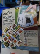 Kiipix instant photo printer, unchecked and boxed