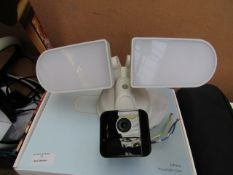 Voger MF820 Floodlight camera, unchecked as needs to be wired into the mains supply, comes with