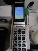 Doro 2414 flip phone, powers on but not checked any further, RRP £50