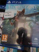 Biomutant for PS4 unchecked in packaging