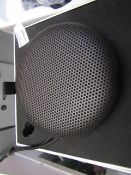 Bang and Olufsen A1 Portable speaker, RRP £230, Tested woring for sound with the power it