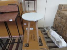 | 1X | SWOON END TABLE | NO MAJOR DAMAGE AND BOXED | PALLET REF SWO-AP-A-249 | RRP CIRCA £99 |